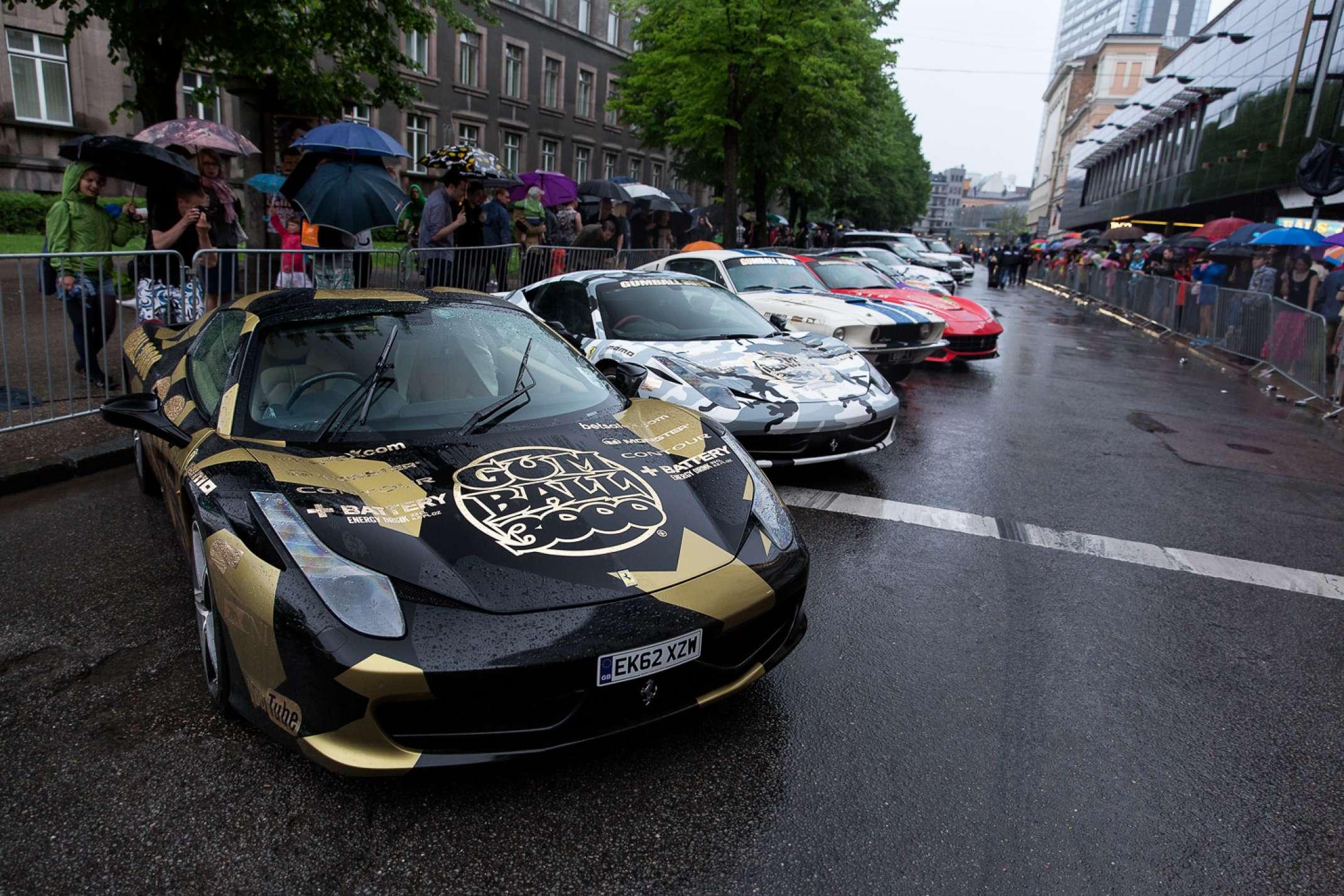 Riga: 2017 Gumball Rally